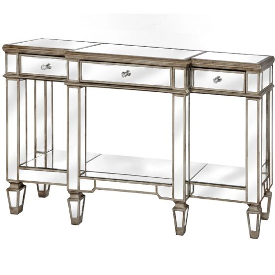 Carlyon Mirrored Display Console Table - Special Order